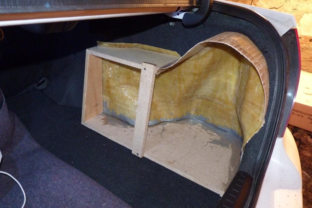 Самодельный короб для сабвуфера