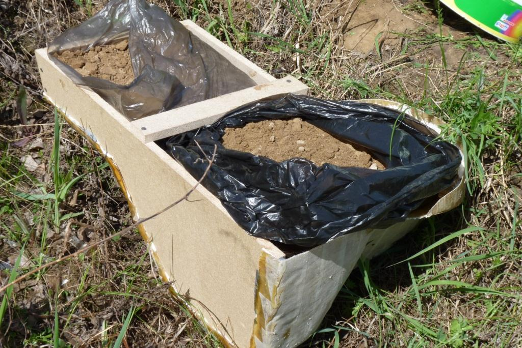 Мешки с песком для лучшего сцепления