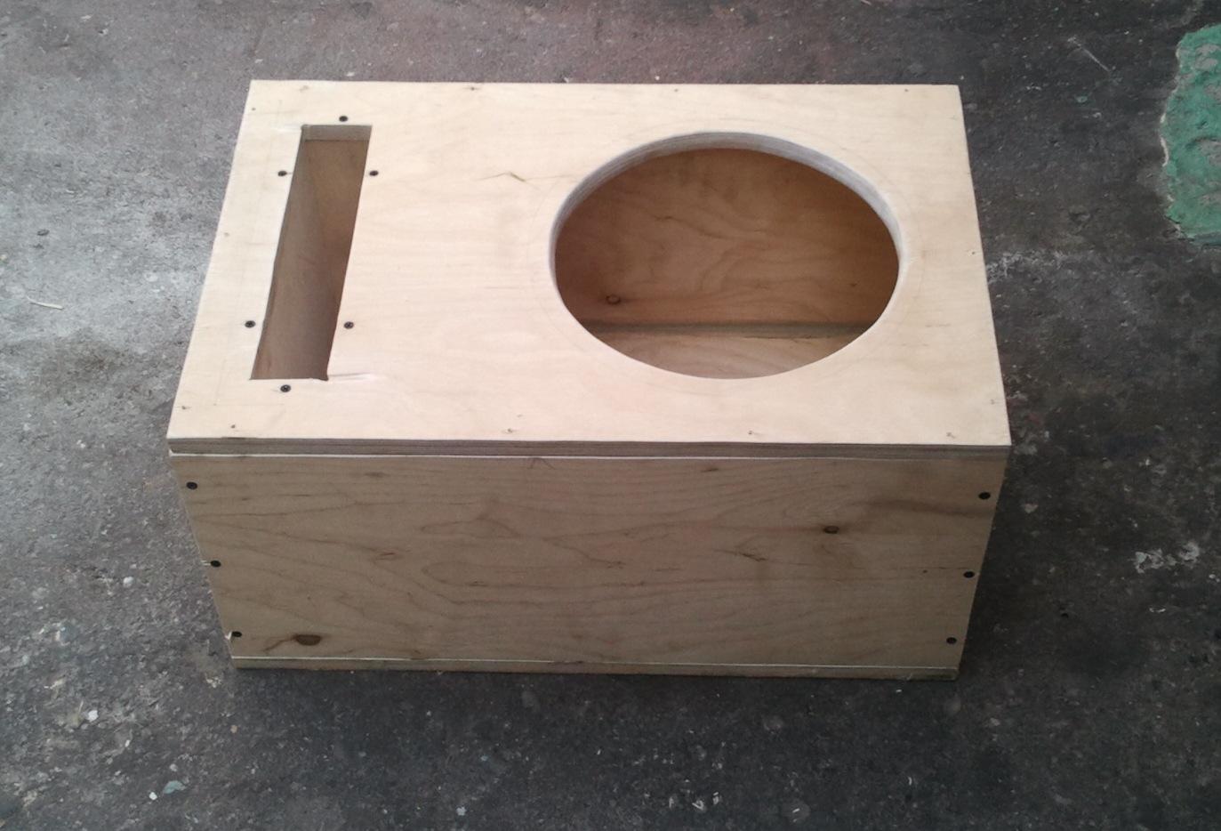 Сделать коробку для динамиков