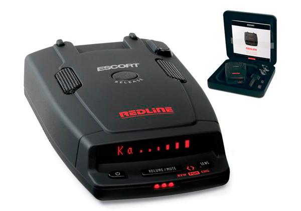 Радар-детектор класса люкс Escort RedLine RU