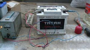 Зарядка автомобильного аккумулятора своими руками
