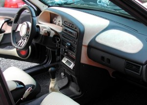 Перетяжка салона автомобиля своими руками