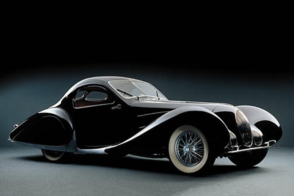 Самые красивые машины раритеты Lago