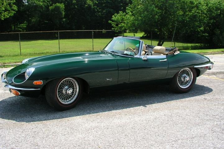 Самые красивые машины раритеты Jaguar E-type