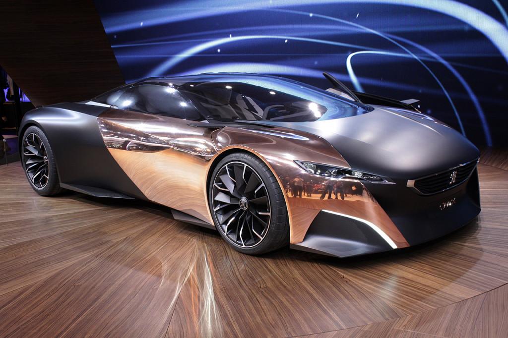 Самые красивые машины мира Peugeot-Onyx