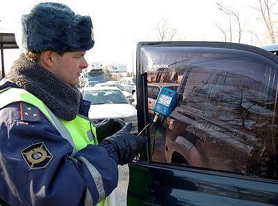 штраф за тонировку передних стекол