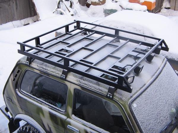 Багажник на крышу автомобиля на ниву своими