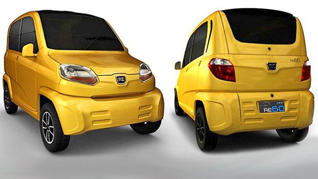 Самая дешевая машина в мире Bajaj RE 60