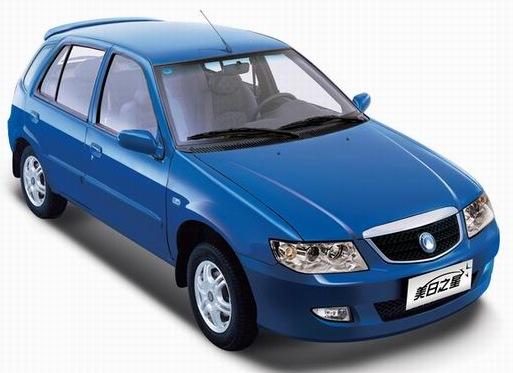 Самые дешевые авто Geely-MR1