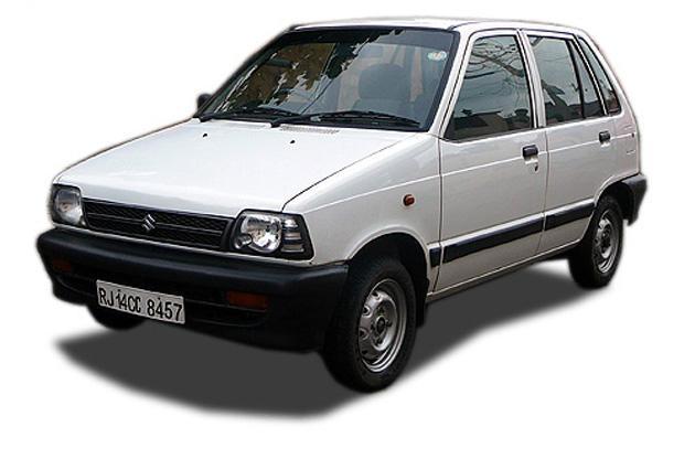 Самые дешевые машины Maruti-Suzuki-800