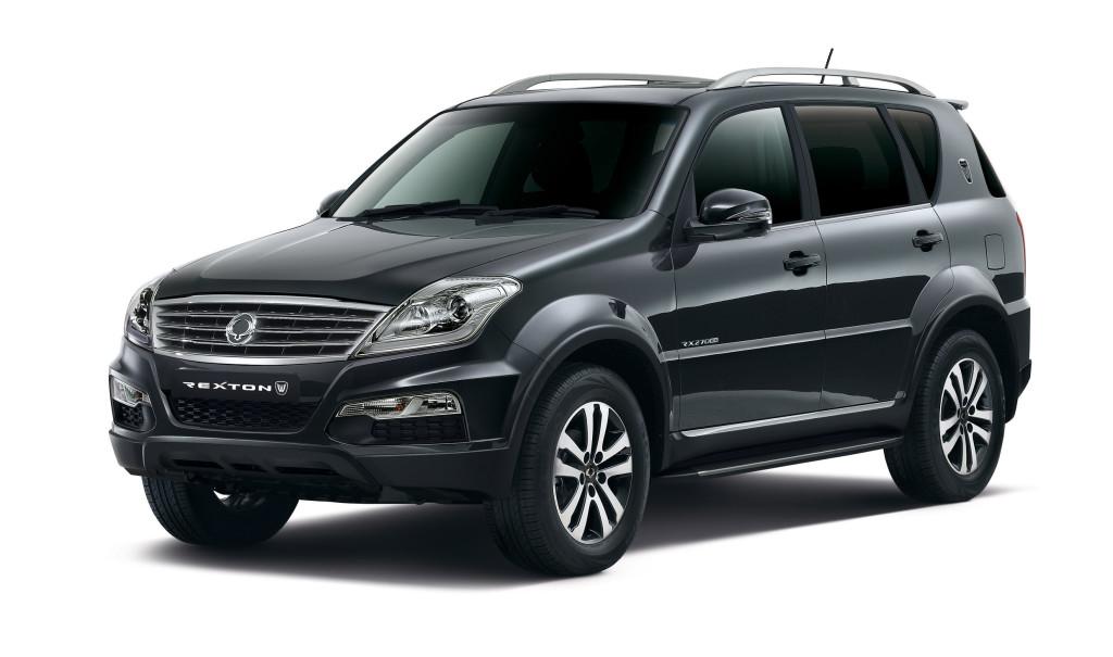 SsangYong Rexton - список марок автомобилей Кореи