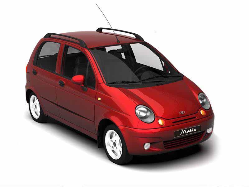 daewoo matiz - самое доступное авто в России