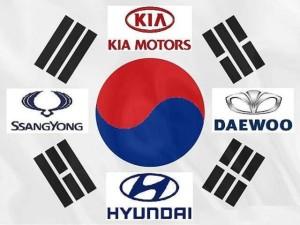 Марки корейских машин