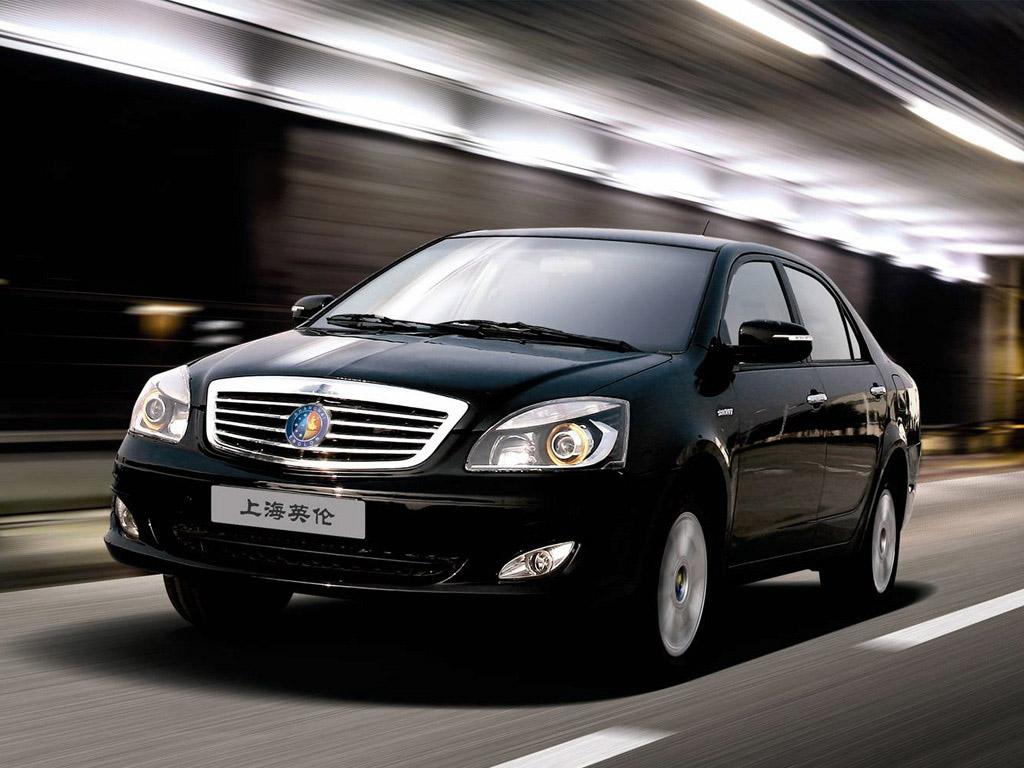 Geely Shanghai Englon - премиум авто китайского производства