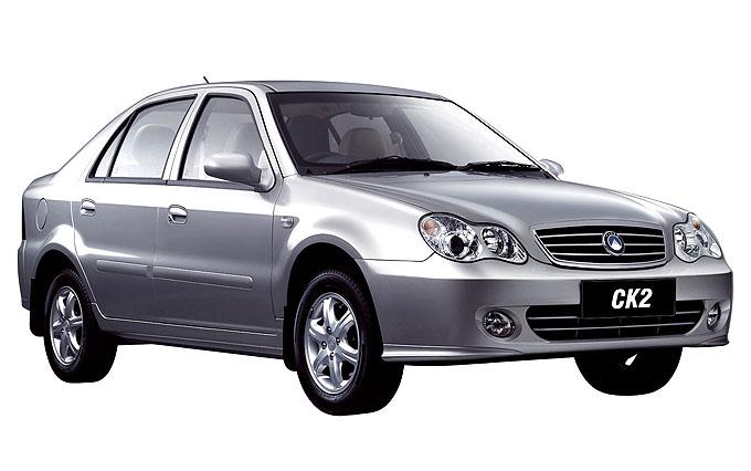 Geely CK2 - марки китайских авто