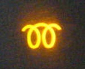 индикатор свечей накала
