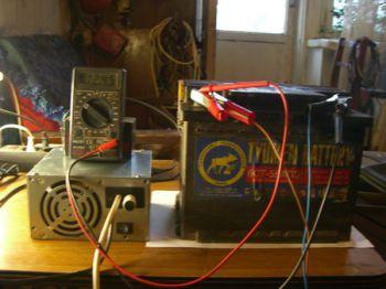 Делаем зарядку для автомобильного аккумулятора своими руками